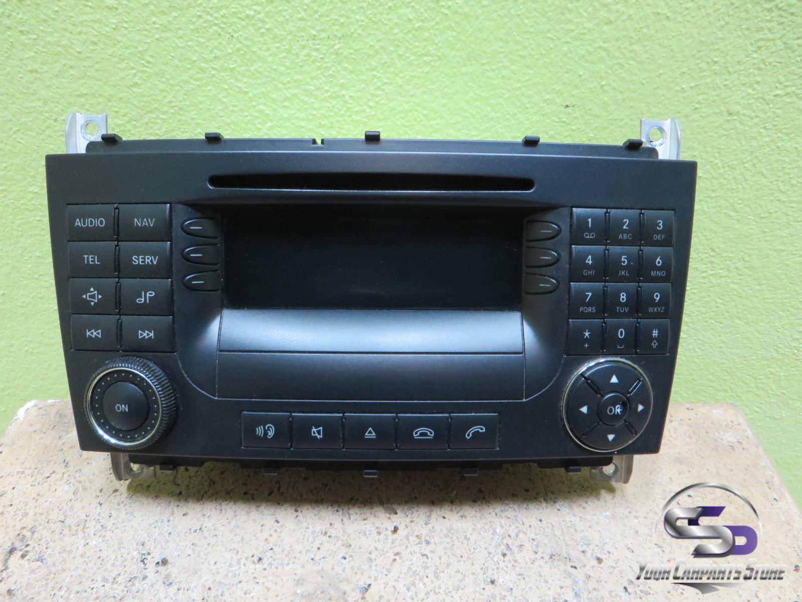 mercedes c w203 s203 navi radio audio aps 50 cd navigation. Black Bedroom Furniture Sets. Home Design Ideas
