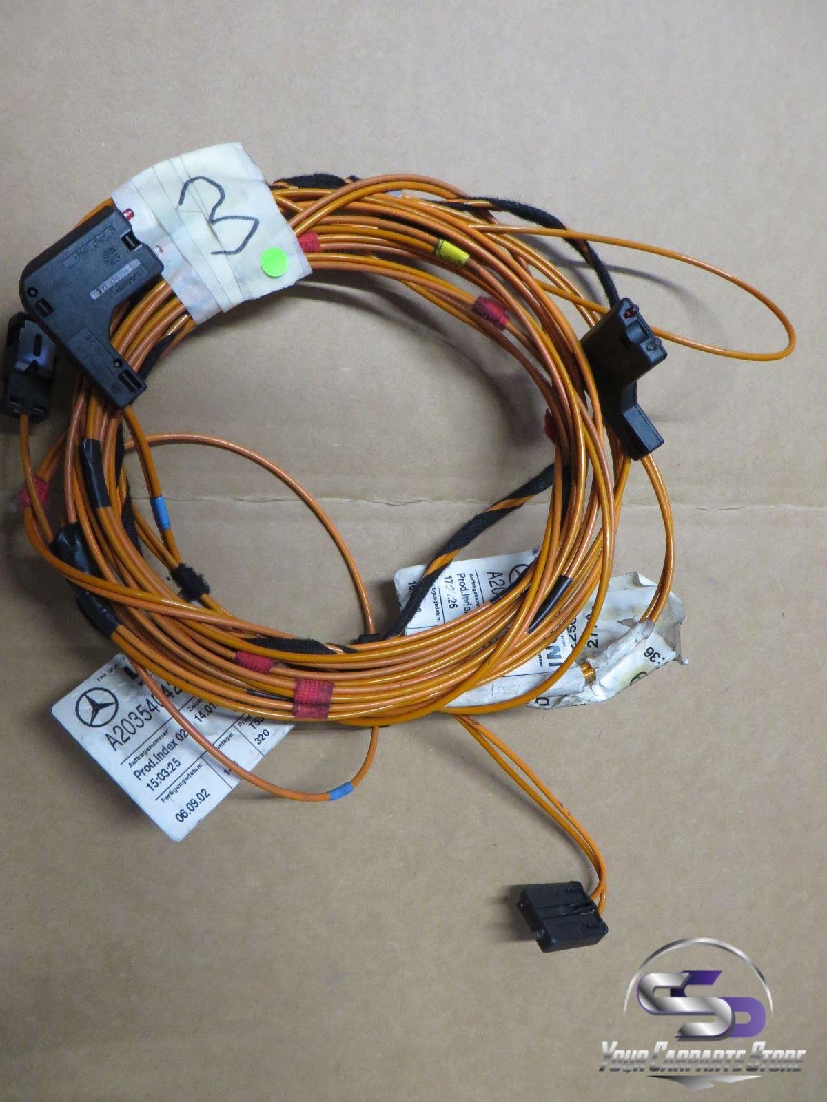 mercedes w203 w210 cd wechsler kabel kabelbaum. Black Bedroom Furniture Sets. Home Design Ideas