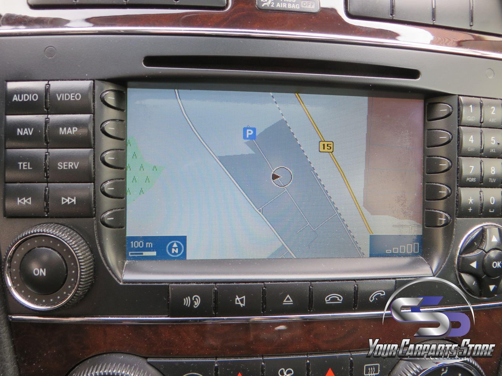 mercedes c w203 s203 comand ntg 2 navi navigation radio. Black Bedroom Furniture Sets. Home Design Ideas