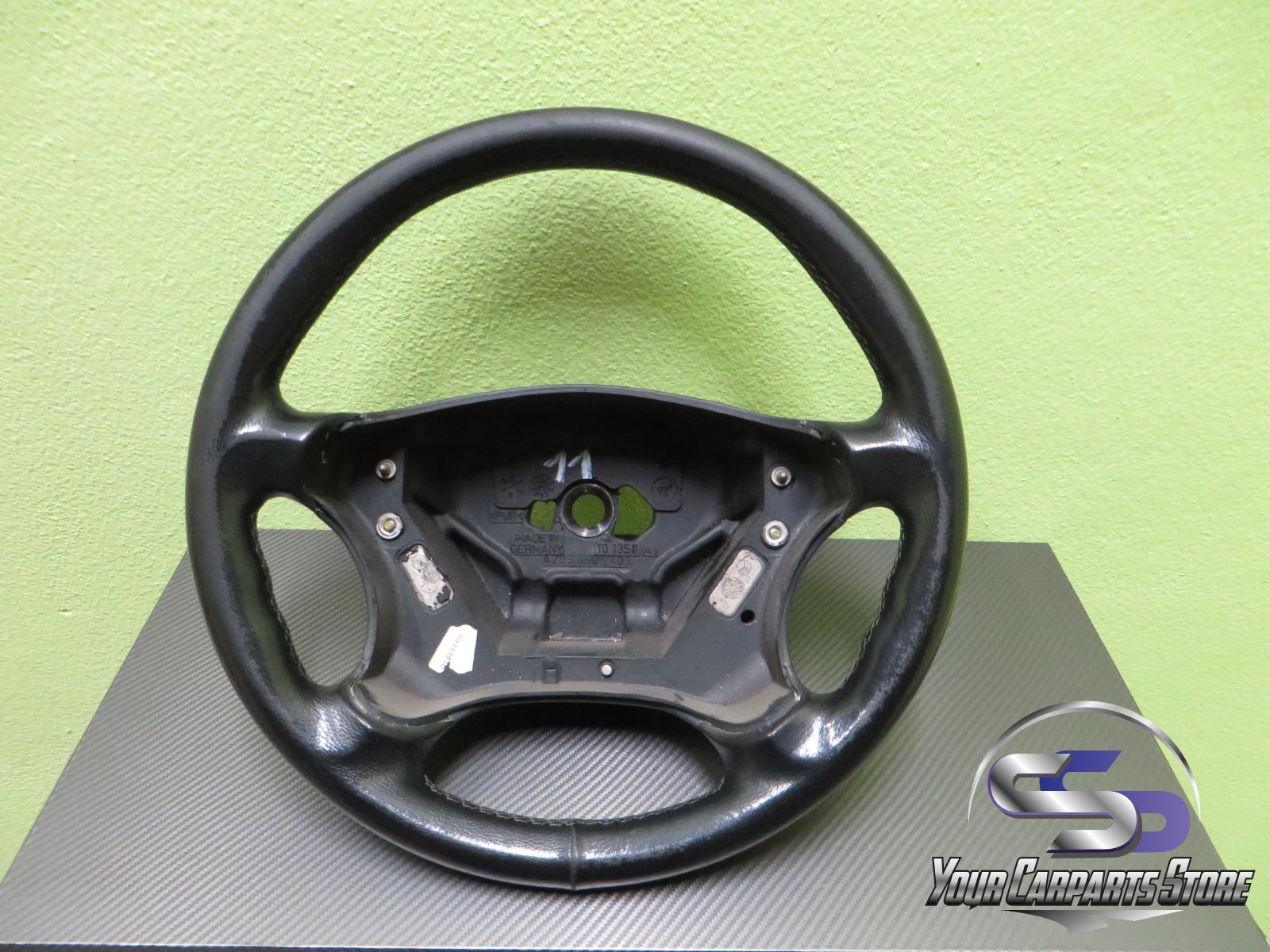 Mercedes benz w203 s203 c lenkrad lederlenkrad c30 c32 amg for Mercedes benz auto parts store