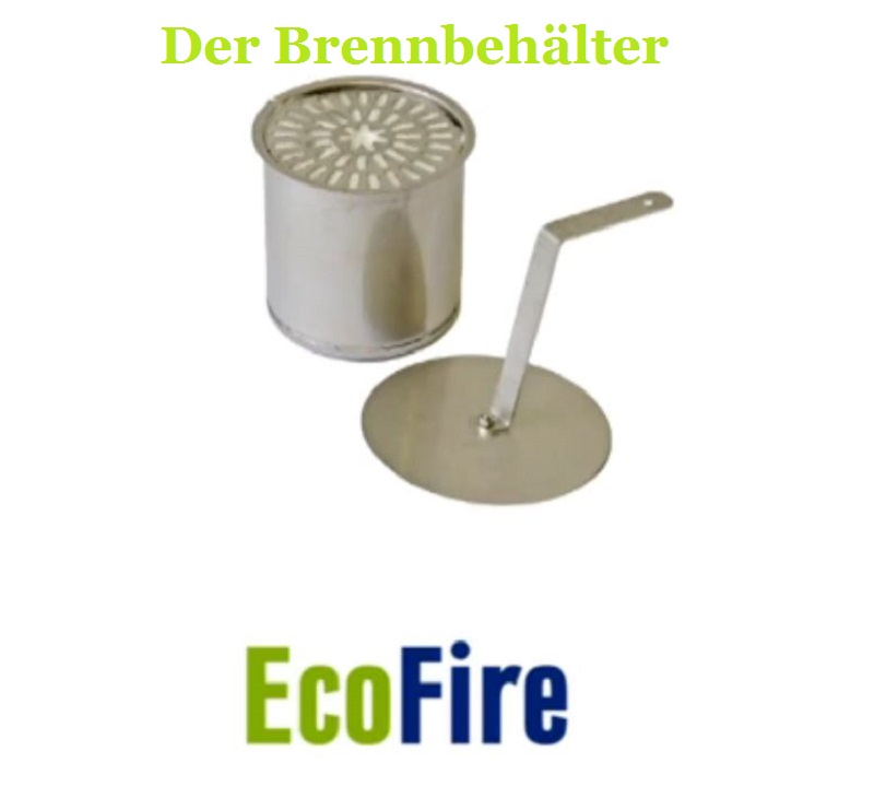 kaminofen ecofire 2 kw umweltfreundlicher bio ethanol ofen kamin flammenzauber ebay. Black Bedroom Furniture Sets. Home Design Ideas