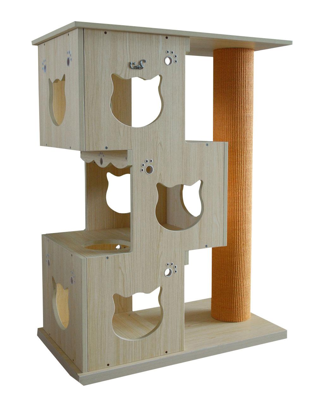 katzenm bel nr 04 kletterbaum katzenbaum mit kratzstange kratzbaum c d1 ebay. Black Bedroom Furniture Sets. Home Design Ideas