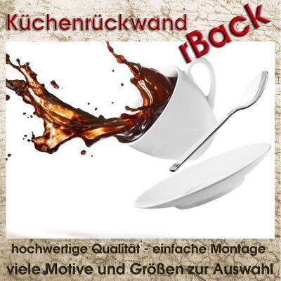 Spritzschutz herd r ckwand k chenr ckwand fliesenspiegel for Herd wandschutz glas