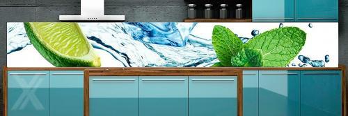 Rückwand Küche Küchenrückwand Spritzschutz Fliesenersatz Wandbild ...    Wandbilder Für Küche