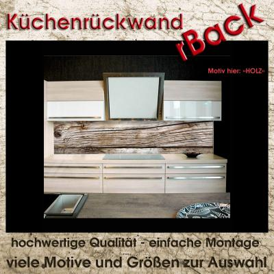 k chenr ckwand fliesenspiegel spritzschutz viele gr en motiv holz 60cm hoch ebay. Black Bedroom Furniture Sets. Home Design Ideas
