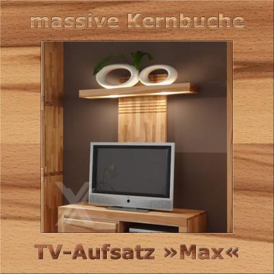 tv aufsatz regal wandpaneel ablage medienregal aus. Black Bedroom Furniture Sets. Home Design Ideas
