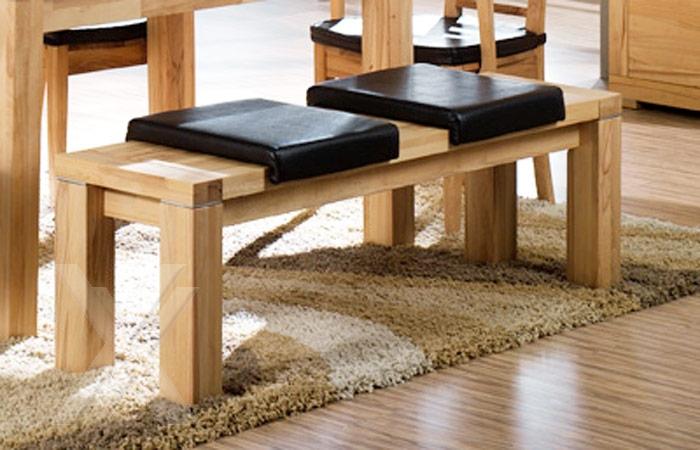 sitzbank bank k chenbank esszimmer holzbank massiv kernbuche ge lt 150cm breit ebay. Black Bedroom Furniture Sets. Home Design Ideas