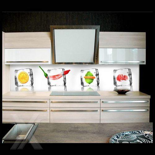 Folie selbstklebend Möbelfront Küchenrückwand Spritzschutz ...
