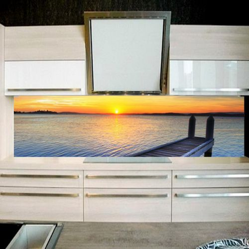 best r ckwand k che plexiglas ideas. Black Bedroom Furniture Sets. Home Design Ideas