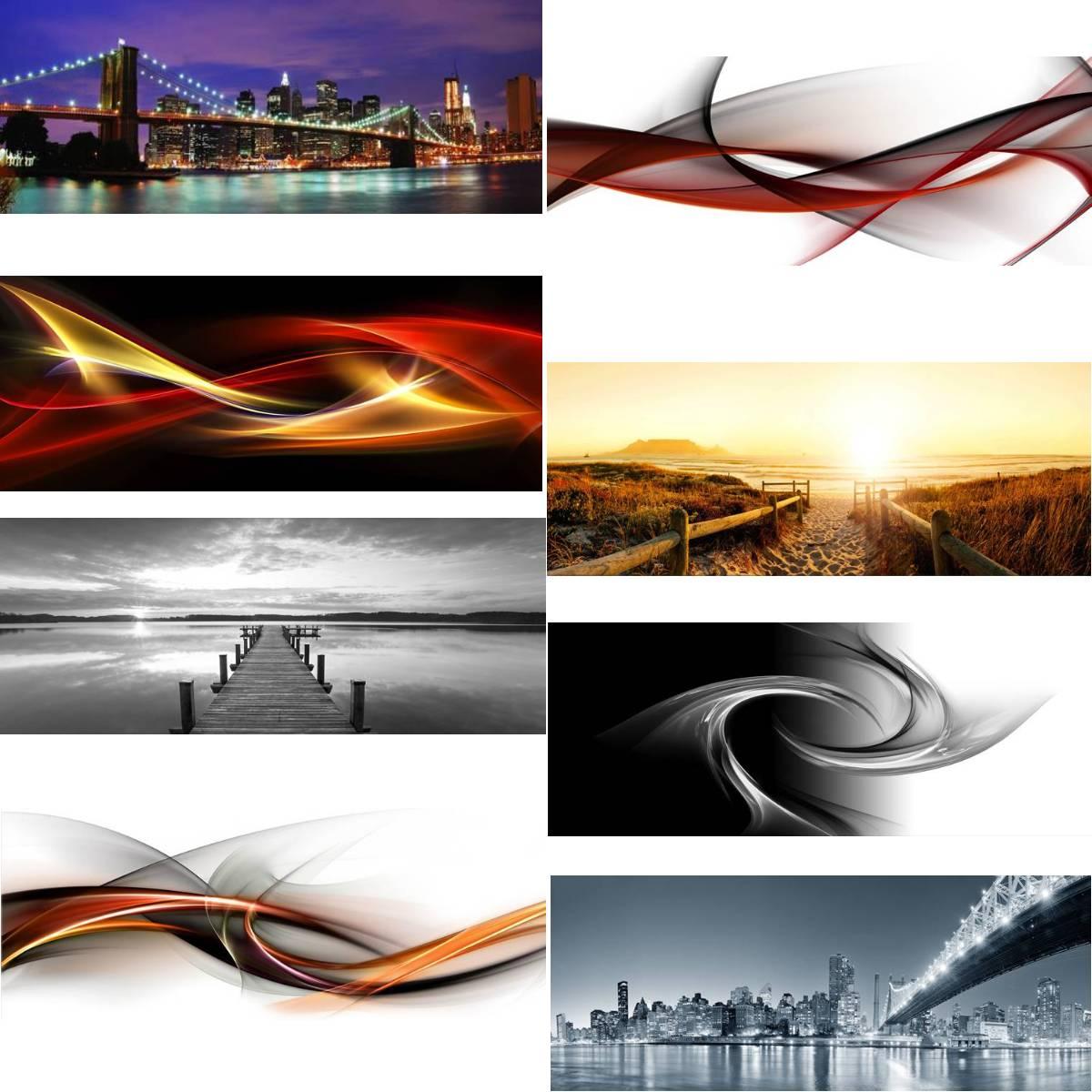 bild glasbild 125x50 bilder glasbilder druck acryl wandbild wandbilder leinwand ebay. Black Bedroom Furniture Sets. Home Design Ideas