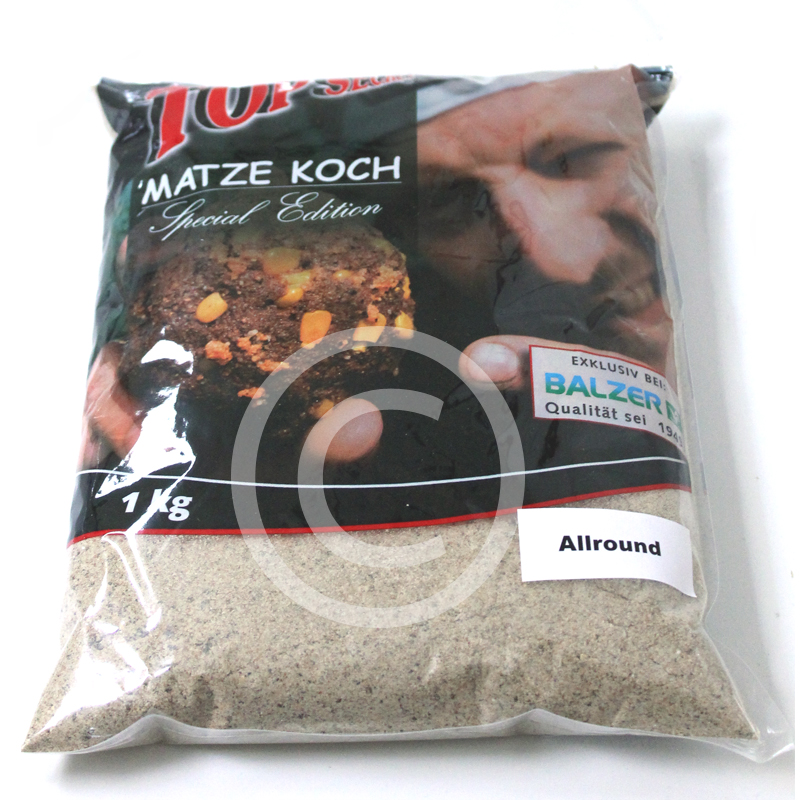 BALZER Matze Koch Special Edition Futter 1 kg 4 Aromen Monster Crab Robin Red