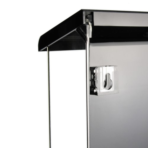prospektbox prospekthalter wetterfest f r aussen din lang hoch ebay. Black Bedroom Furniture Sets. Home Design Ideas