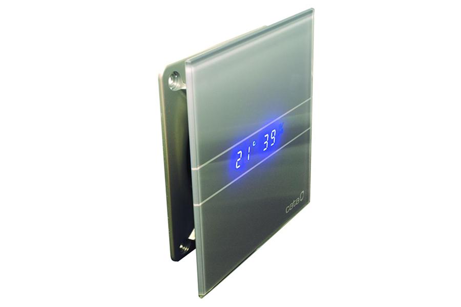 badlüfter kleinraum ventilator cata e-100 gth silver inkl
