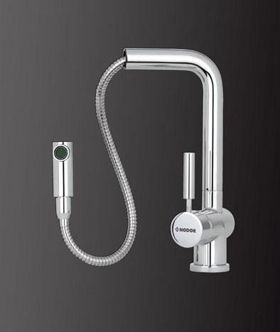 Lavello aperto cucina miscelatore monocomando cata rimovibile soffione doccia - Soffione della doccia ...