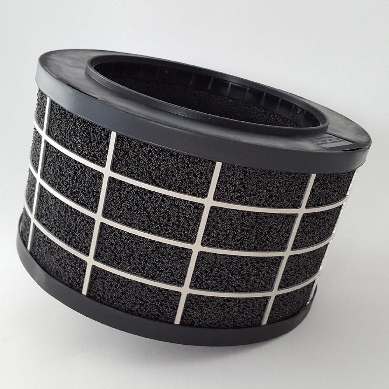 ECO SET Dunstabzugshaube RHEA 900 WH Umluft Plasma Filter RONDO