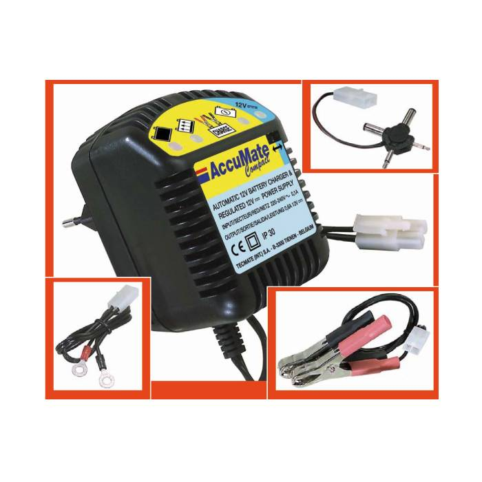 accumate compact 12v motorrad batterie ladeger t ebay. Black Bedroom Furniture Sets. Home Design Ideas