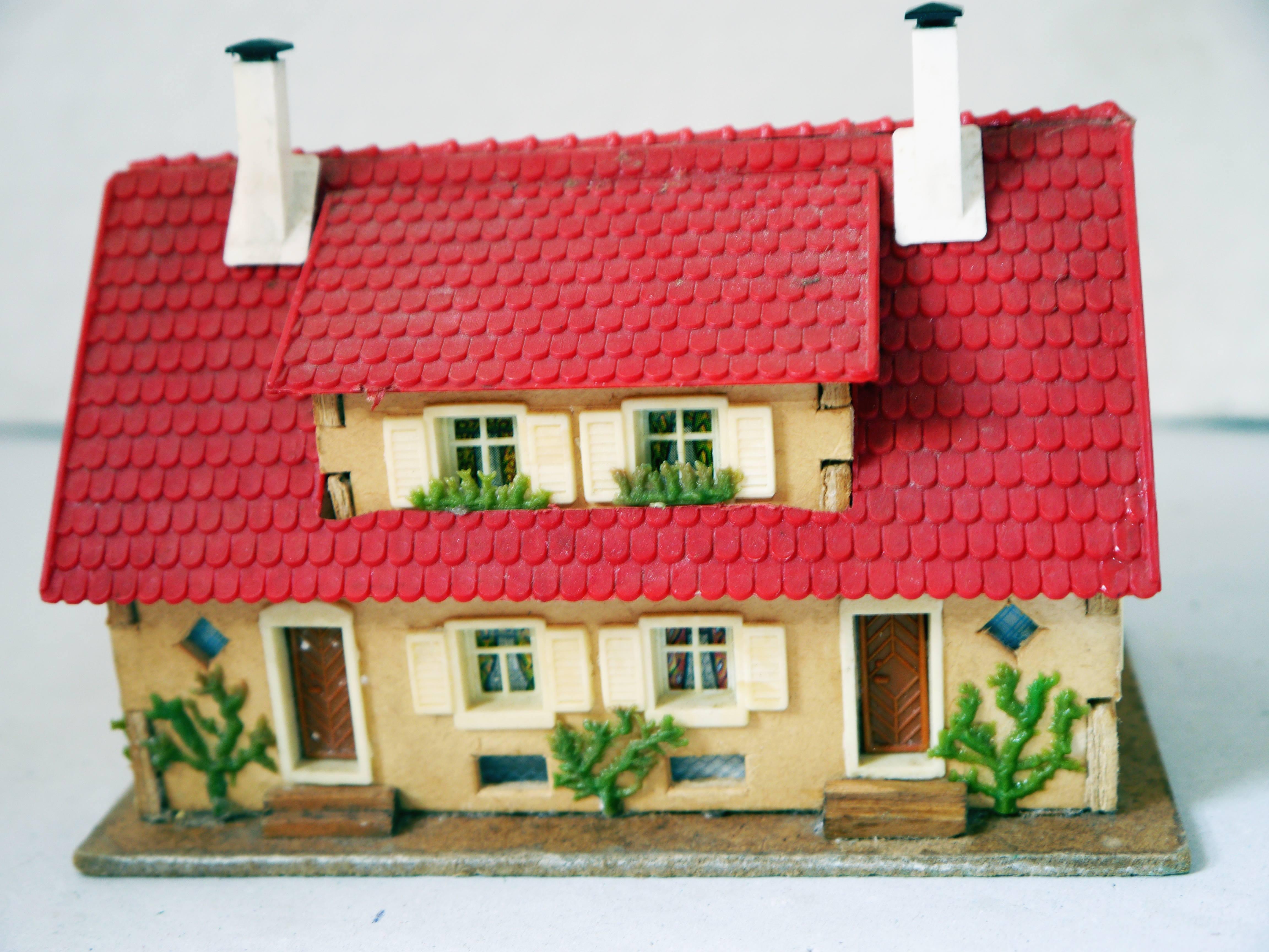 faller h0 wohnhaus aus holz ebay. Black Bedroom Furniture Sets. Home Design Ideas