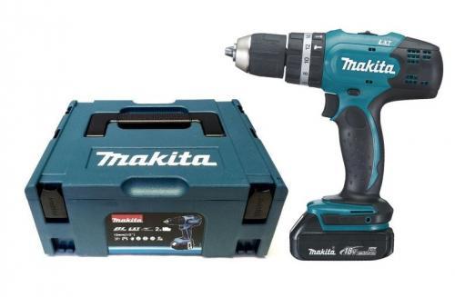 Makita-Akkuschrauber-Akku-Schlagbohrschrauber-BHP453RHJ-18-V-Li-Ion-BHP-453-RHE