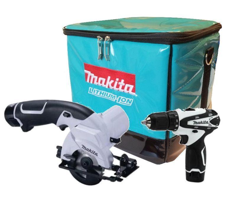 makita dk1454w akku combo kit bohrschrauber df330d handkreiss ge hs300d ebay. Black Bedroom Furniture Sets. Home Design Ideas