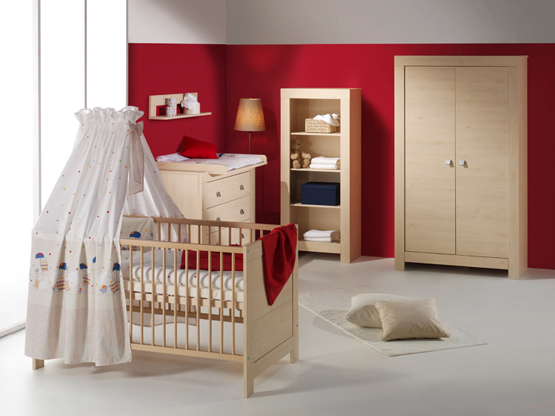kombi kinderbett nordic ahorn holzdekor ahorn von. Black Bedroom Furniture Sets. Home Design Ideas