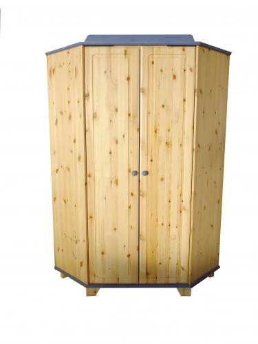 eckschrank train kiefer massiv von schardt ebay. Black Bedroom Furniture Sets. Home Design Ideas