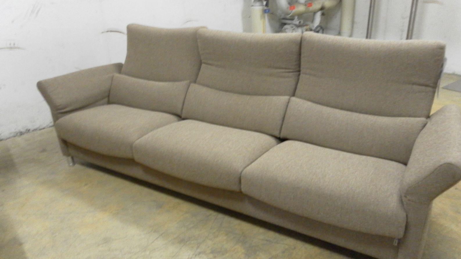 erpo sofa gate bezug flachgewebe hellbraun ausstellungsst ck ebay. Black Bedroom Furniture Sets. Home Design Ideas