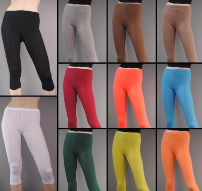 3 4 leggings leichte baumwolle damen leggins hose legins rock kleid b30 ebay. Black Bedroom Furniture Sets. Home Design Ideas