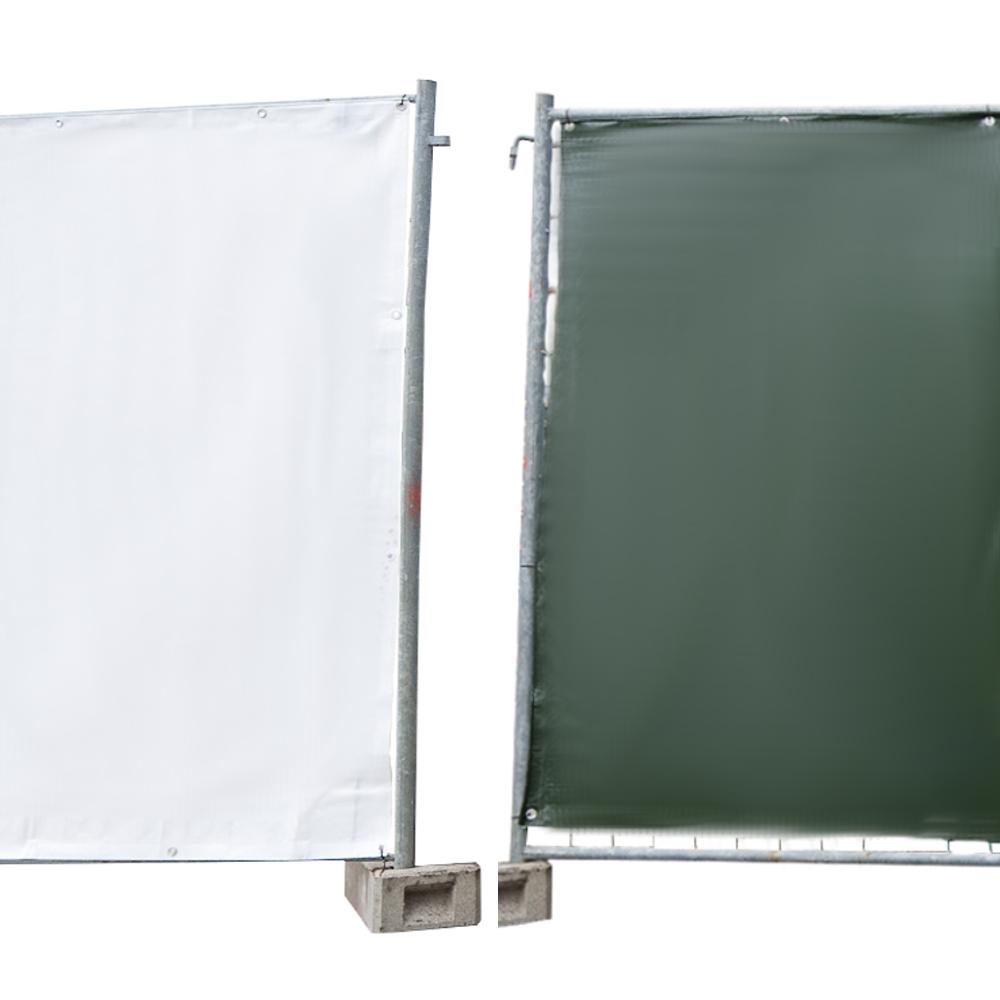 bauzaun plane sichtschutz sichtschutzplane zaunblende. Black Bedroom Furniture Sets. Home Design Ideas
