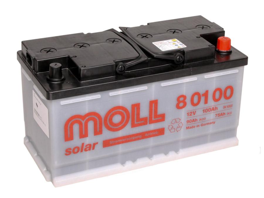 Moll solarbatterie 100ah