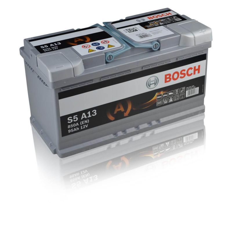 95ah 12v agm vliesbatterie vrla start stop bosch s5 a13. Black Bedroom Furniture Sets. Home Design Ideas