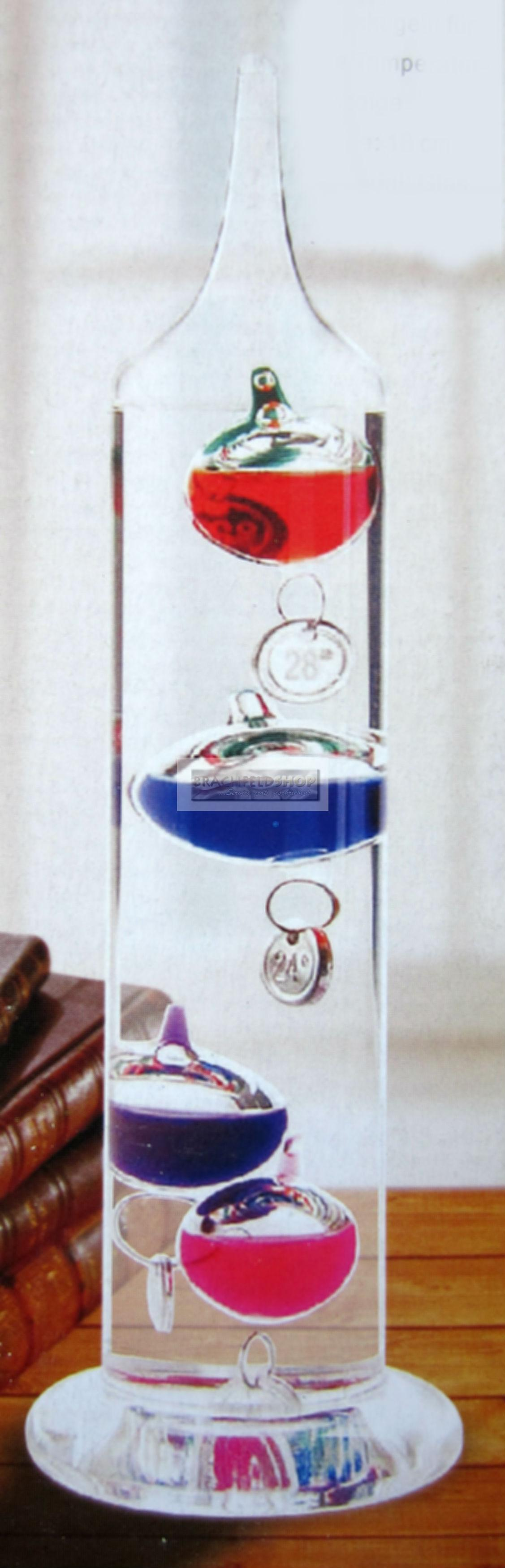 galileo thermometer fl ssigkeitsthermometer. Black Bedroom Furniture Sets. Home Design Ideas