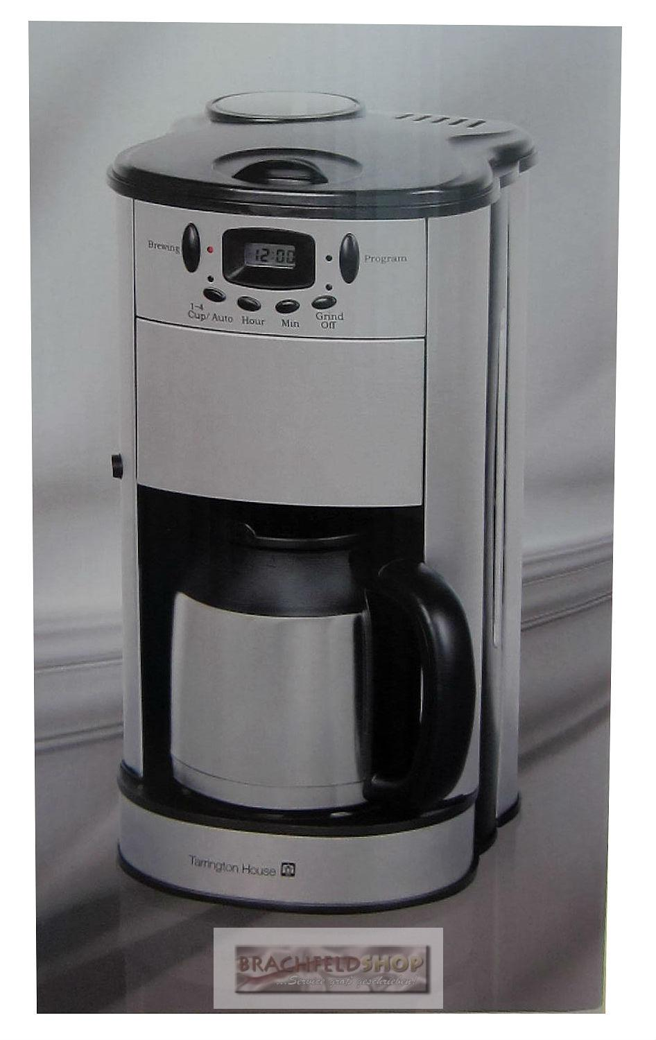 kaffeemaschine cmg1000 isolierkanne mahlwerk timer digitaleanzeige ebay. Black Bedroom Furniture Sets. Home Design Ideas