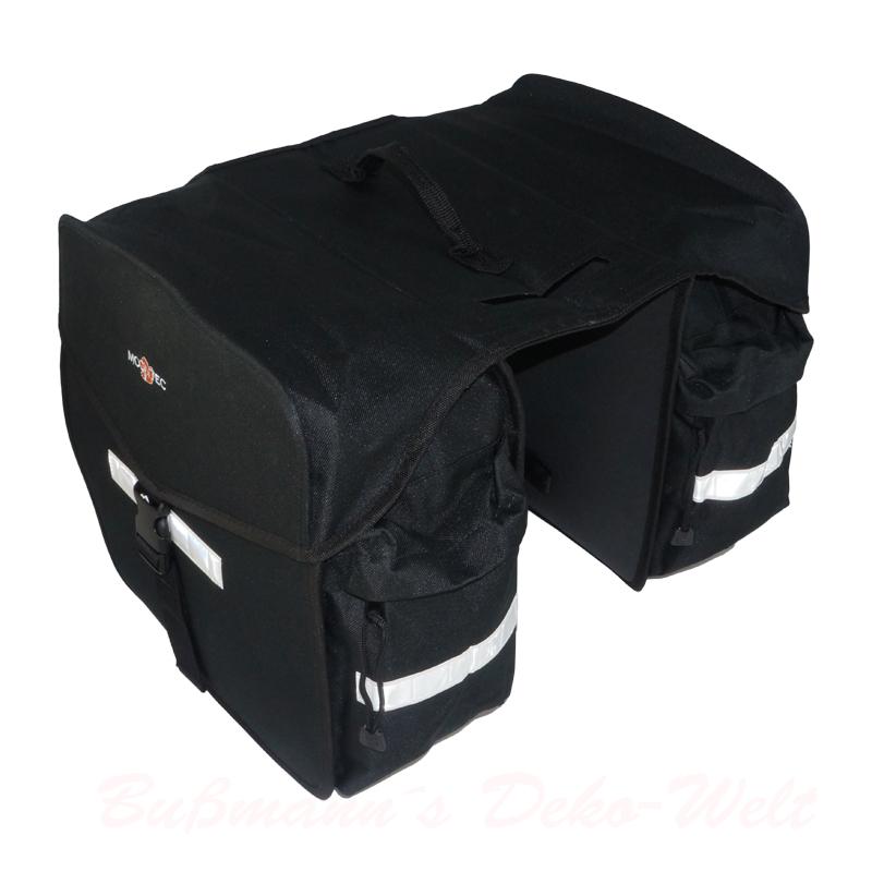 fahrradtasche doppel packtasche fahrrad tasche ebay. Black Bedroom Furniture Sets. Home Design Ideas