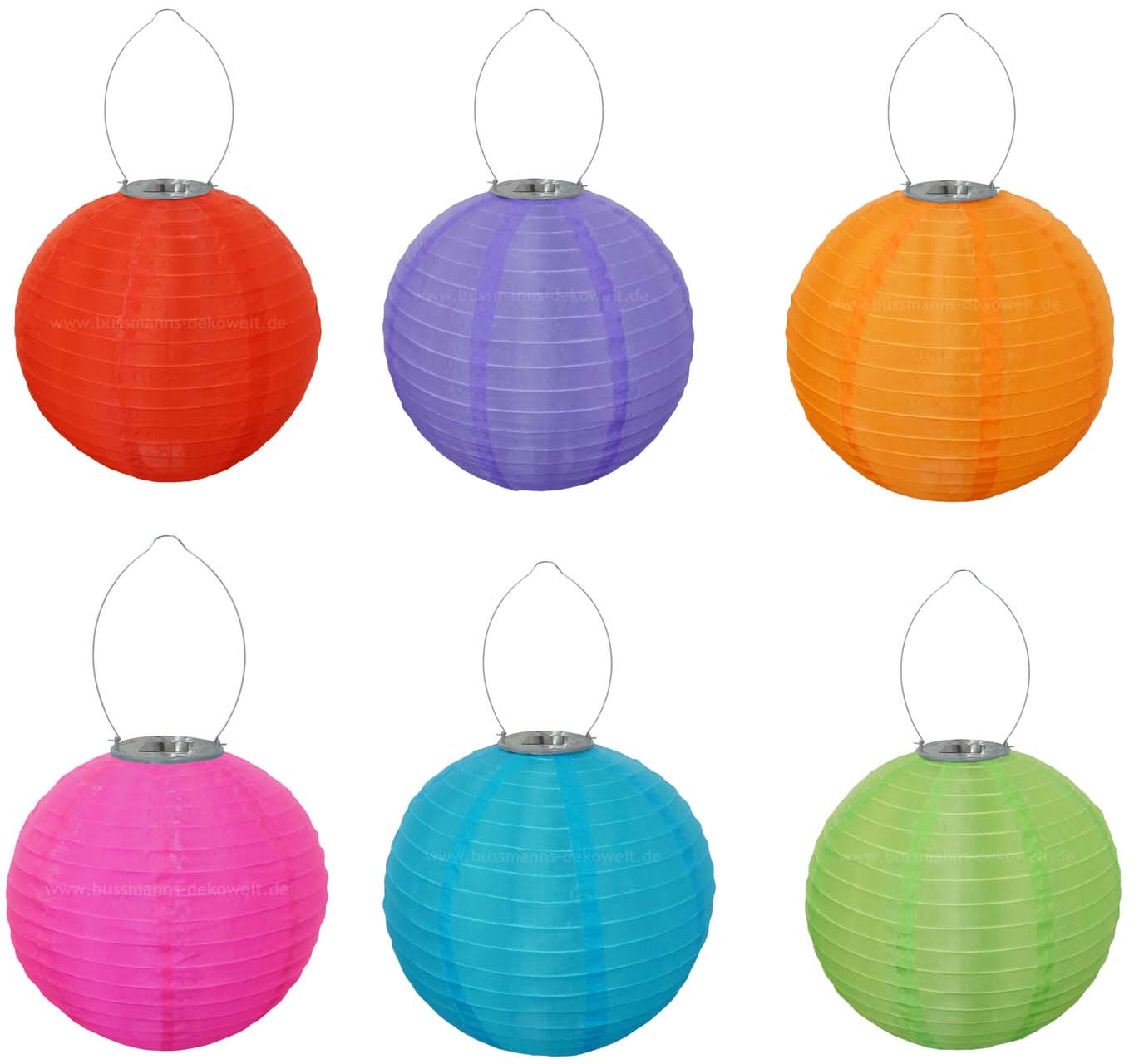 anmutiger led solar lampion bunt rund 30cm lampions solarlampion ebay. Black Bedroom Furniture Sets. Home Design Ideas