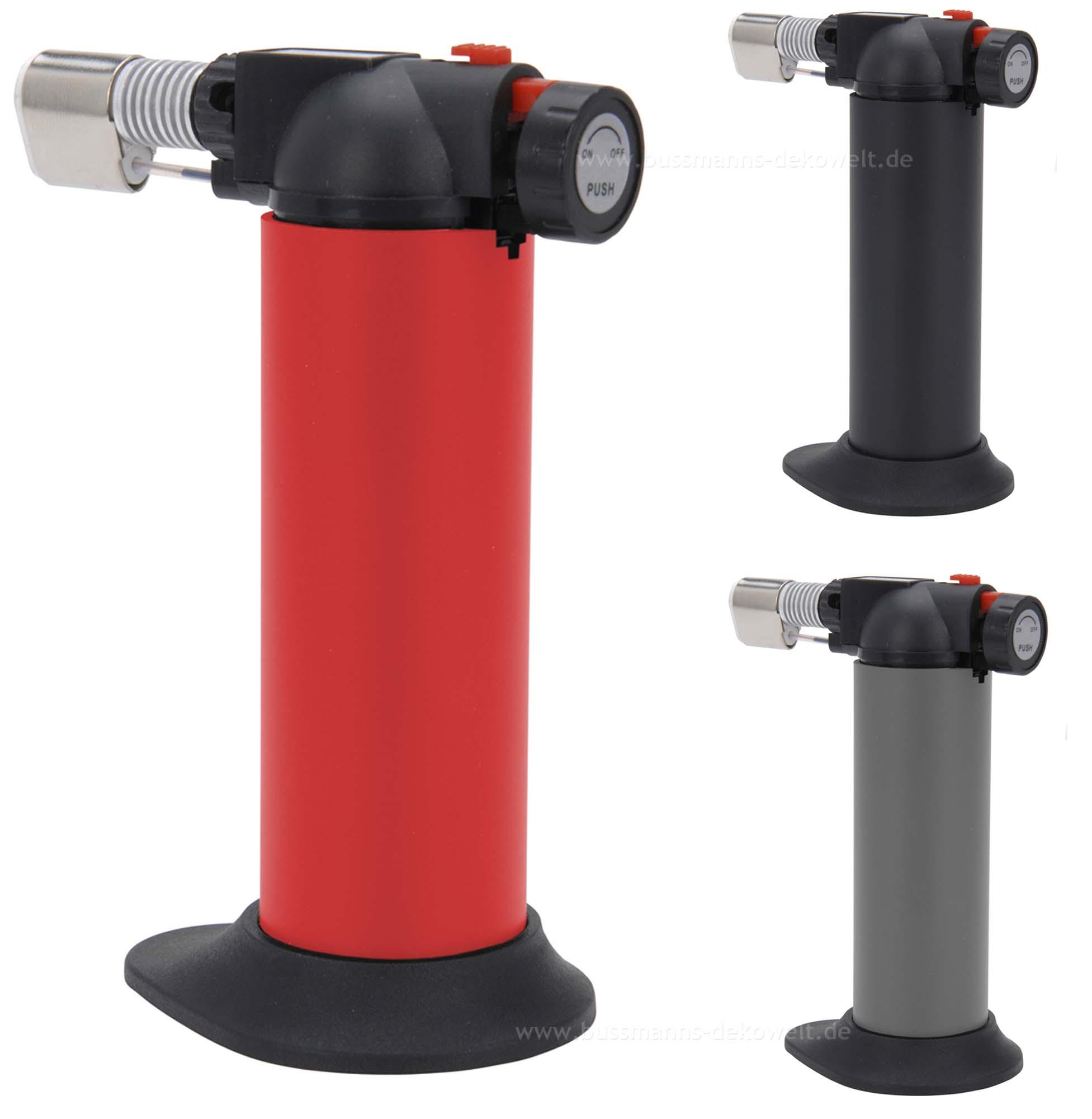 creme brulee brenner flambierer universal butangas gasbrenner ebay. Black Bedroom Furniture Sets. Home Design Ideas