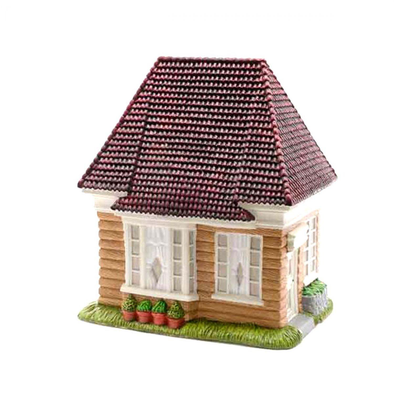 mini garten minigarten haus 21 x 17 x 13 cm mini garten miniatur deko ebay. Black Bedroom Furniture Sets. Home Design Ideas