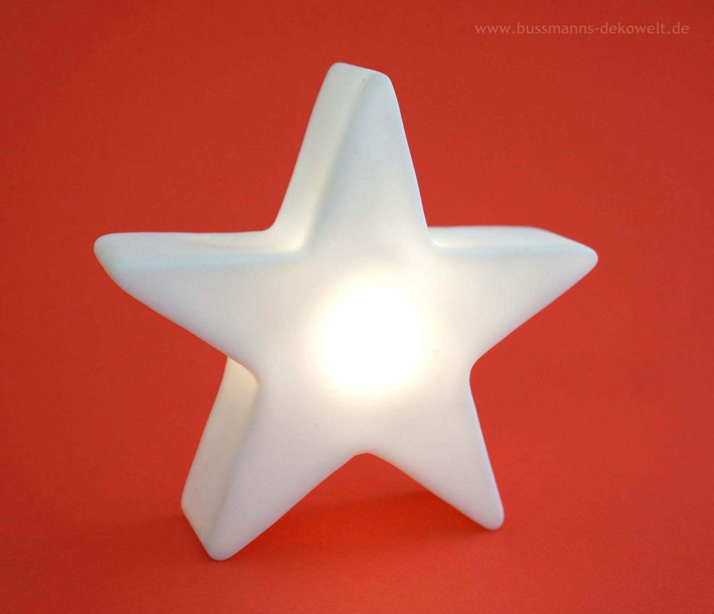 3x led leuchte stern 9 cm beleuchtung licht dekoration for Stern beleuchtet weihnachten