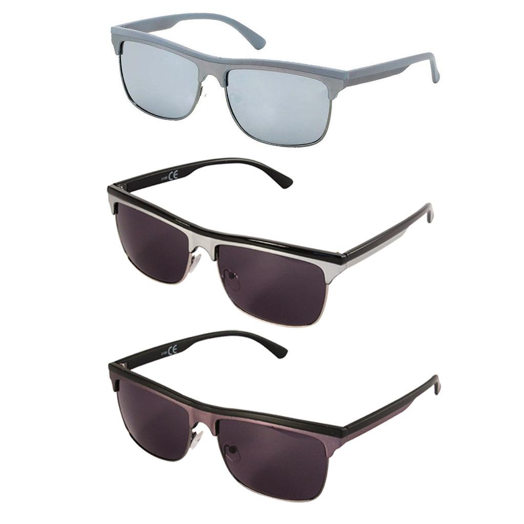 sonnenbrille herren brille zweifarbig streifen verspiegelt dunkel get nt 400 uv ebay. Black Bedroom Furniture Sets. Home Design Ideas