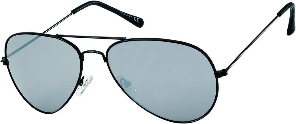 sonnenbrille pilotenbrille verspiegelt schwarz gr n wei. Black Bedroom Furniture Sets. Home Design Ideas