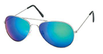 Sonnenbrille Pilotenbrille 400 UV verspiegelt golden Doppelsteg pink grün gelb b vD5tpXWF
