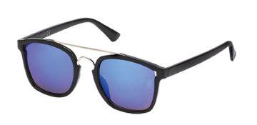 Sonnenbrille Retro 400 UV Metalldoppelsteg Bogensteg Gestell schmal weiß JkGNqr