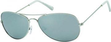 Sonnenbrille Unisex Pilotenbrille eckig 400UV verspiegelt getönt Pornobrille Fli wPrLOF