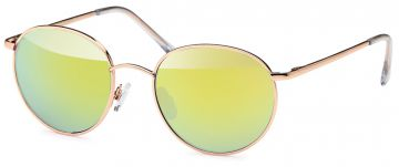 Sonnenbrille Unisex runde Gläser Hippie Brille John Lennon 400UV Bogen Jmv7iS