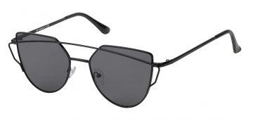 Sonnenbrille Cateye Bügel 400 UV Metall verspiegelt Flachgläser JHhYAA3W