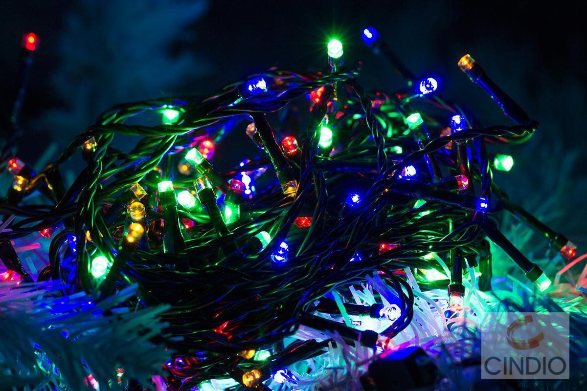 180 led lichterkette weihnachtsbaum christbaum party. Black Bedroom Furniture Sets. Home Design Ideas