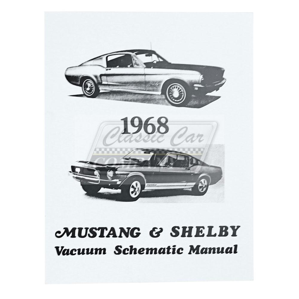 Sonstige | Unterdruck Vakuum Leitungen Diagramm Schema Ford Mustang ...