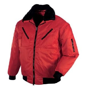 pilotenjacke rote herren jacke arbeitsjacke weste winter gr e xl ebay. Black Bedroom Furniture Sets. Home Design Ideas