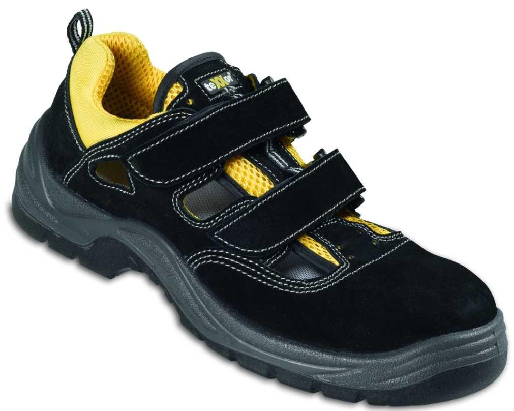 arbeitsssandale sicherheitsschuhe sommer arbeitsschuhe sandale klett ebay. Black Bedroom Furniture Sets. Home Design Ideas