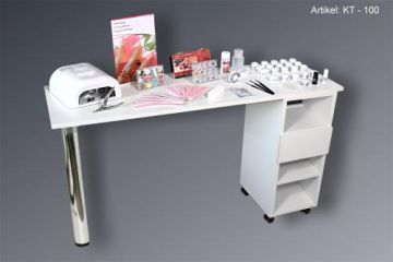 Studio Table - manicurist - nail table KT -100 for your nail salon
