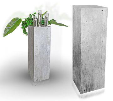 dekos ule podest holzs ule beton optik ebay. Black Bedroom Furniture Sets. Home Design Ideas